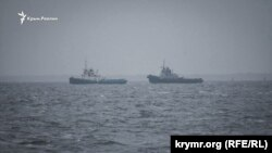 Судно «Яни Капу» буксують в порт Очакова, 20 листопада 2019 року
