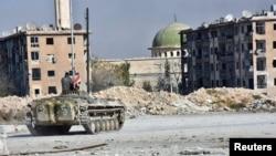 В городе Алеппо. 28 ноября 2016 года.