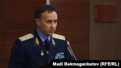 Бас прокурордың орынбасары Андрей Кравченко. Астана, 3 қараша 2016 жыл.