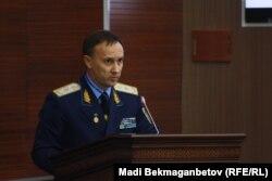 Бас прокурор орынбасары Андрей Кравченко. Астана, 3 қараша 2016 жыл.