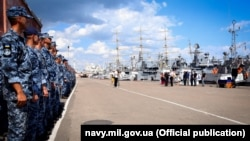 Курсанты Института ВМС