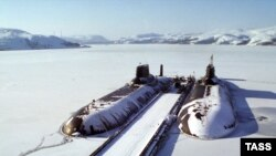 Российские стратегические ядерные подлодки.