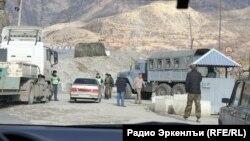 Полицейский пост в Дагестане, архивное фото