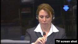 Stephanie Frease u sudnici, 23. ožujka 2012.