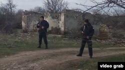 Грузинские полицейские закрыли дорогу в Хурвалети