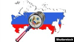 Илустрација за санкциите на САД врз Русија.