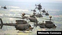Helikopter Kiowa, koji je pao