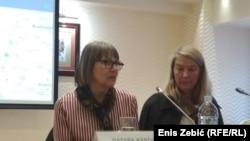 Pionirski poduhvat: Nataša Kandić i Vesna Teršelič na predstavljanju mape u Zagrebu