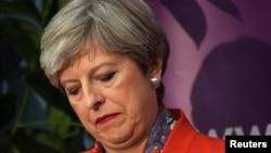 Тереза Мэй, премьер-министр Великобритании. Мэйденхед, 9 июня 2017 года.