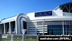 Aşgabat, Aziýa oýunlary üçin gurlan binalaryň biri.