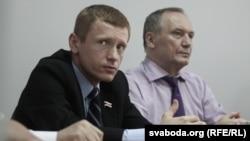 Аляксей Янукевіч, Уладзімер Някляеў