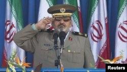 Началникот на генералштабот на иранската армија, генерал Хасан Фироузабади.