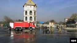 На місці вибуху у центрі Кабула, Афганістан, 16 листопада 2016 року