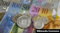 Švicarski franak, ilustrativna fotografija