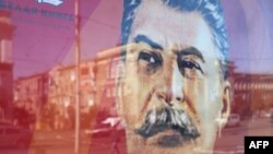 Soviet leader Josef Stalin has reappeared in many places -- and not only in the pro-Russian, rebel-held Donbas region in Ukraine -- while many of the dictator's murderous deeds are also being sanitized in Russian media.