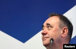Алекс Салмонд, голова Шотландської національної партії