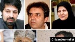 بدرالسادات مفیدی، محمد صدیق کبودوند، عمادالدین باقی، مهدی محمودیان و عیسی سحر خیز از جمله روزنامهنگارانی هستند که حال آنها وخیم گزارش شده است.