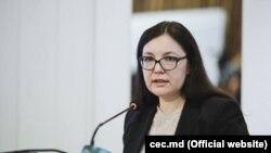 Alina Russu, președinta Comisiei Electorale Centrale