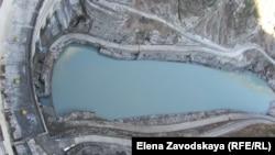 Резкое падение уровня воды зафиксировано в Джварском водохранилище, питающем гидроэлектростанцию «Ингур»