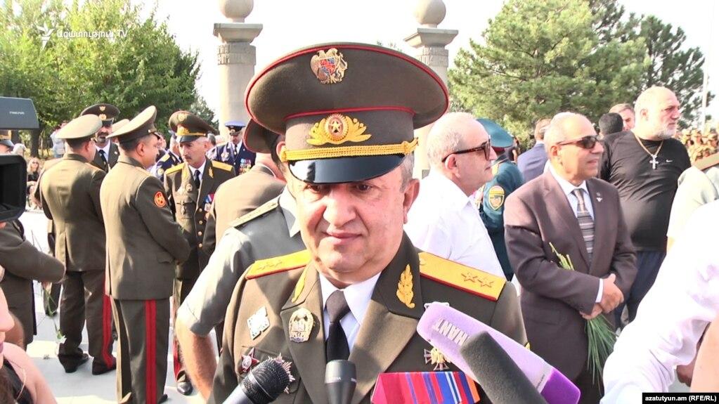 Мовсес Акопян назначен главным военным инспектором