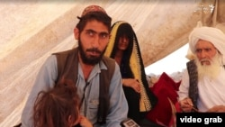 Mohammad Hanif (left), a farmer from Badghis, sold his only daughter for 120,000 afghanis (around $1,600) a few months ago.