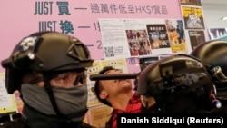 Гонконгдогу нааразылык акциясы. 15-декабрь, 2019-жыл