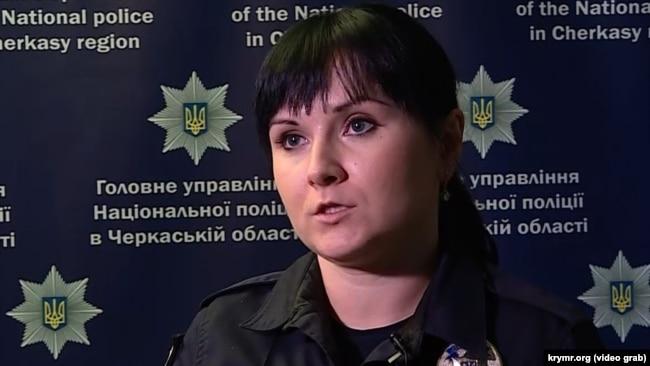 Наталья Ткачук, и. о. пресс-атташе главного управления Национальной полиции в Черкасской области