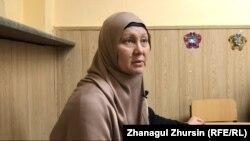 Ақтөбе қаласының тұрғыны Гүлжан Сәбенова.