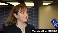 Șefa diplomației moldovene la Vilnius în noiembrie 2013