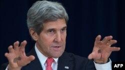 АҚШ мемлекеттік хатшысы Джон Керри. Вашингтон, 20 қараша 2013 жыл.