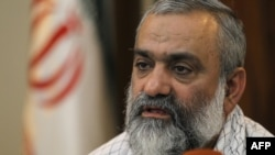 Mohammad Reza Naghdi says the United States wants to bring Islamic State to Iran's borders in order to pressure Tehran.