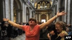 La anunțul alegerii noului Papă, la Buenos Aires