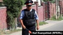 Казахстанский полицейский. Иллюстративное фото.