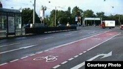 Велосипедные дорожки распространены во многих городах мира