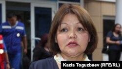 Адвокат Айман Умарова. Алматы, 5 июля 2016 года.