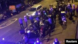 Policija na mestu jednog od napada kiselinom u Londonu
