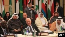إجتماع جامعة الدول العربية حول سوريا في 8/1/2012