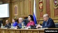 Tatarıstan parlamnetinin komissiyasında müzakirə