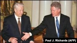Борис Ельцин жана Билл Клинтон. 20-март, 1997-жыл.