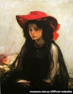 Олександр Мурашко. «Дівчина в червоному капелюшку». (Музейники цю парижанку з геть незрозумілих причин називають Татьяной Ларіной)