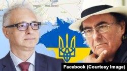 Посол України в Італії Євген Перелигін пояснить співакові Аль Бано, чому він потрапив до санкційного списку