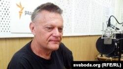 Аляксандар Растопчын у студыі Радыё Свабода