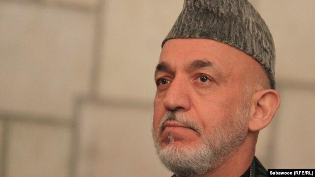 Afghanistan President Hamid Karzai