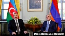 Швейцария - Встреча президентов Армении и Азербайджана, Женева, 16 октября 2017 г․