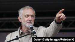 Джереми Корбин, лидер Лейбористской партии Великобритании.