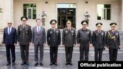 Generallar Şəmkirdə.