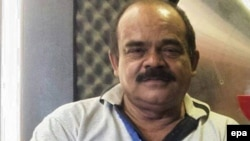 Geo TV телеарнасының технигі, қастандықтан өлген Аршад Әли Джафри.