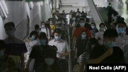 Бээжин шаарындагы метро. 15-июнь, 2020-жыл.