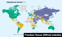 Infografika Freedom House-a