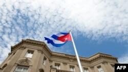 Flamuri kuban në Uashington
